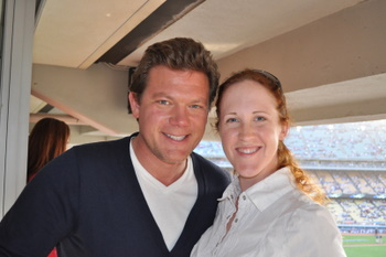 Tyler Florence and Nicole