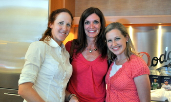 Nicole, Diane and Rachael