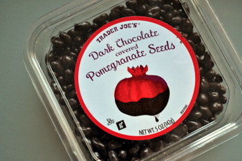 Dark Choc Pomegranate Seeds