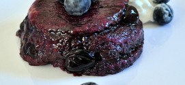 Blueberry Summer Puddings