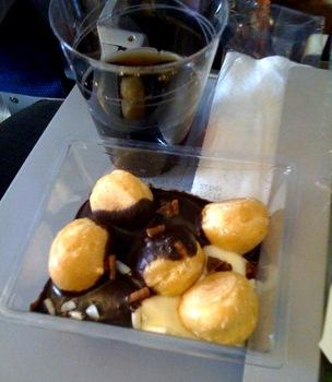 Dessert on KLM