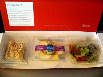 Food On Klm Airlines Baking Bites