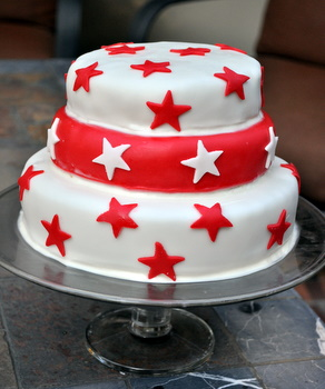 Star Spangled Layer Cake