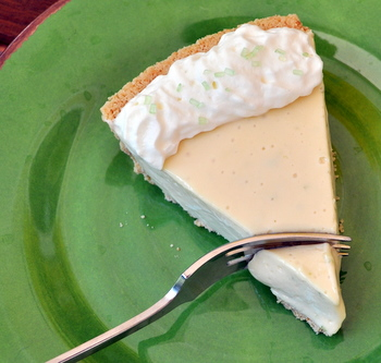 Creamy Key Lime Pie Recipe — Dishmaps