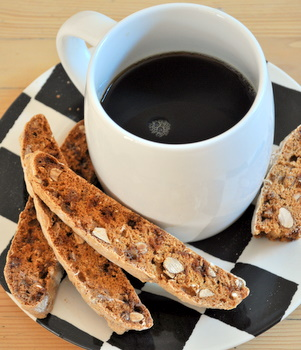 Almond and Toffee Biscotti