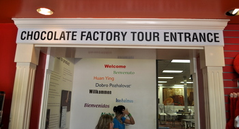 Chocolate Factory Tour starting point