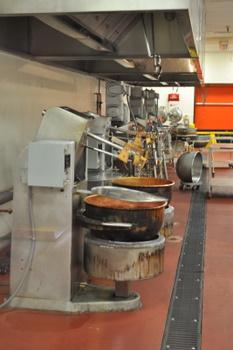 Mixing bowls at Ethel M