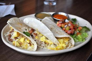 Juan's Breakfast Tacos