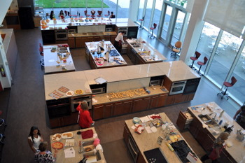 Betty Crocker Kitchen from above