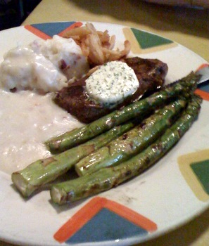 Bistro Steak with Mashed Potatoes