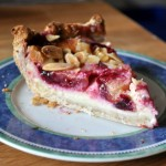 Plum Custard Pie