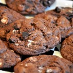 Chocolate Cookies n' Cream Cookies