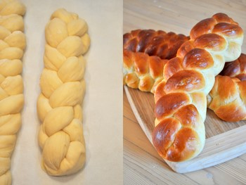 Four Strand Challah Braid