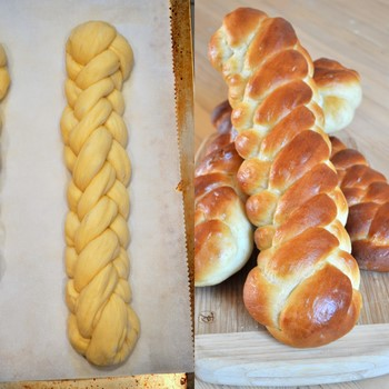 Five Strand Challah Braid