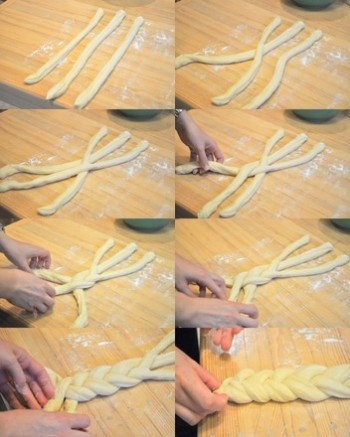 Three strand Challah Braid