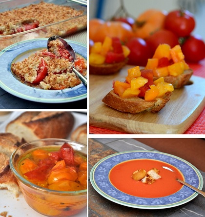 Delicious End-of-Summer Tomato Recipes
