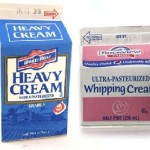 Ultra pasteurized heavy cream