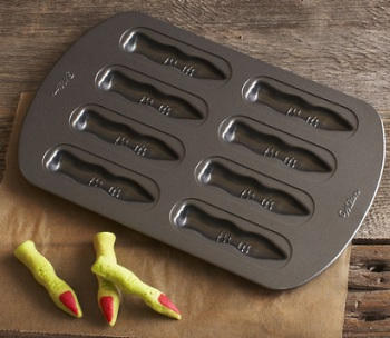 Witch's Fingers Cookie Pan - Baking Bites