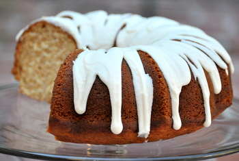 Banana Rum Bundt Cake