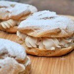Paris Brest with Cream Filling