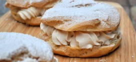 Paris Brest with Espresso Cream