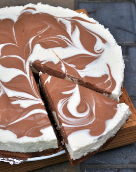 Marble Brownie Cheesecake