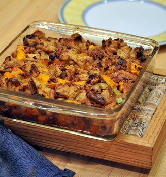 Bacon, Pumpkin and Pecan Stuffing