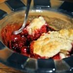 Cranberry Sauce Cobbler