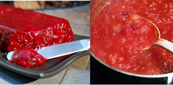 Homemade Cranberry Sauces