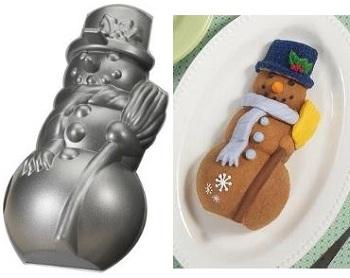 Nordicware Snowman Pan