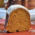 Pumpkin Pound Cake Slice