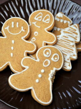Pumpkin Gingerbread Men