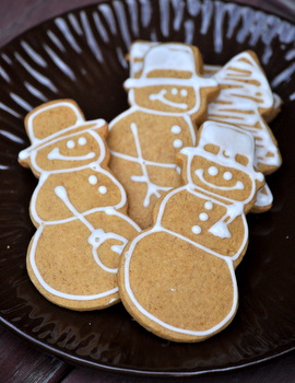 Snowmen Gingerbread