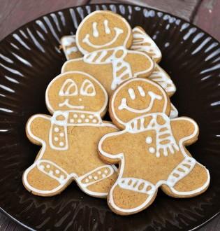 Pumpkin Gingerbread Cookies | Baking Bites