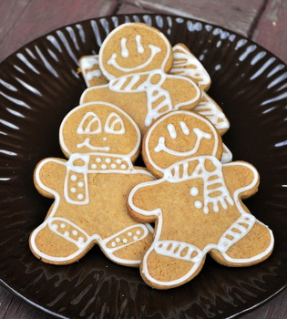 Pumpkin Gingerbread Cookies