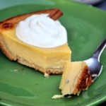 Eggnog Custard Pie bite