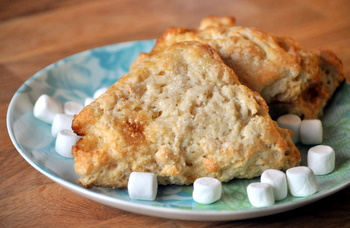 Rice Krispies Treats Scones