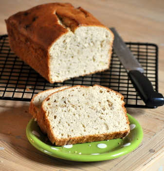 Vanilla Bean Banana Bread