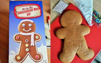 TJ's Big Gingerbread Man