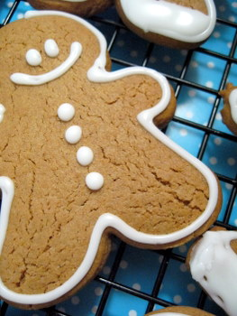 Gingerbread Man with icing