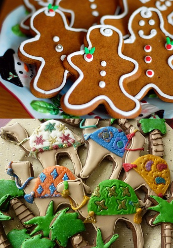 Winning Gingerbread Contest Entries!