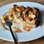 Apple Cider Bread Pudding