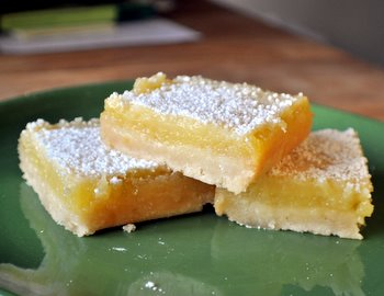 Lime Shortbread Bars