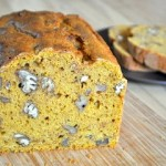 Nutty Pumpkin Bread