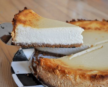 Perfect Cheesecake Slice