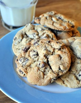 Brown Sugar Chocolate Chunk Cookies