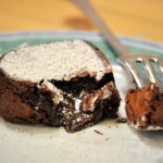 Chocolate Lava Cake Mix, oozing