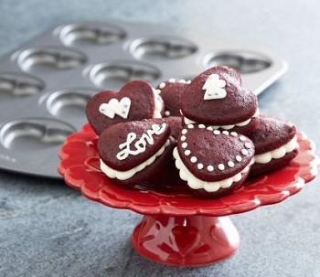 Heart Whoopie Pie Pan