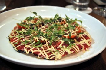 Morimoto Sushi Pizza
