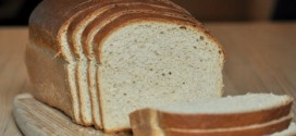 No Knead Whole Wheat Honey Sandwich Bread